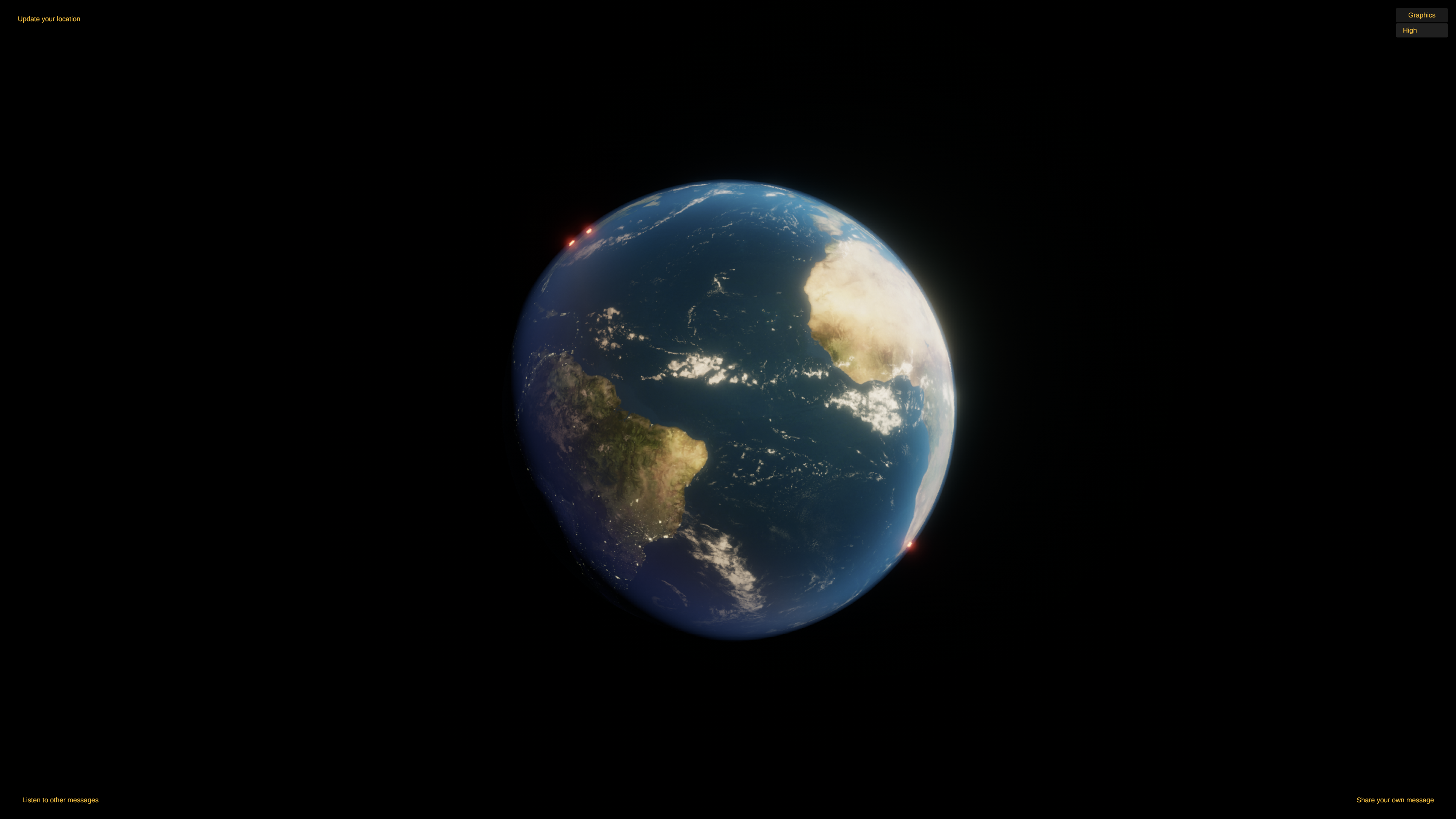 Creating a Real Time Earth in Unity for WebGL